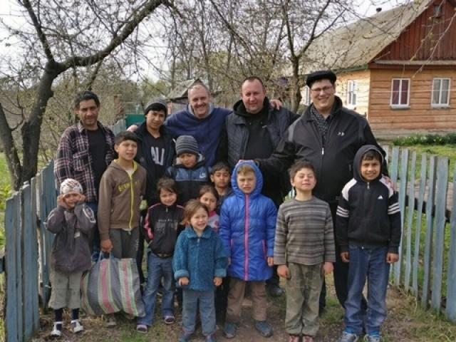Tsernobylin varjoissa, romanikodeissa