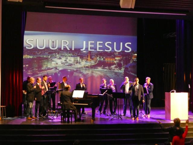 Jeesuksen läsnäolossa