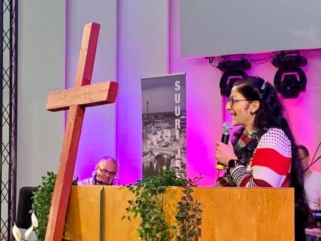 Katse ristiinnaulitussa Kristuksessa